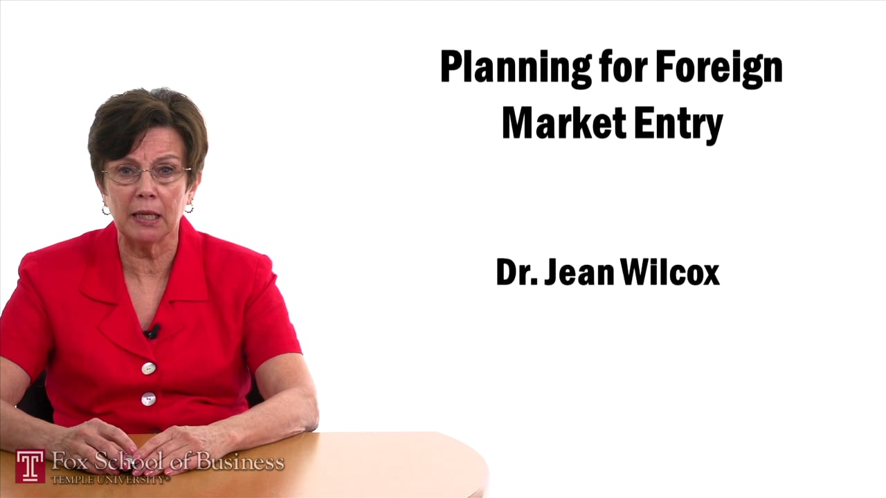 57447Planning for Foreign Market Entry