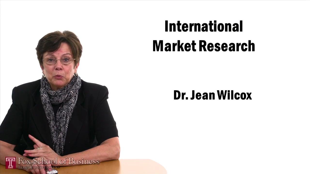 57430International Market Research II