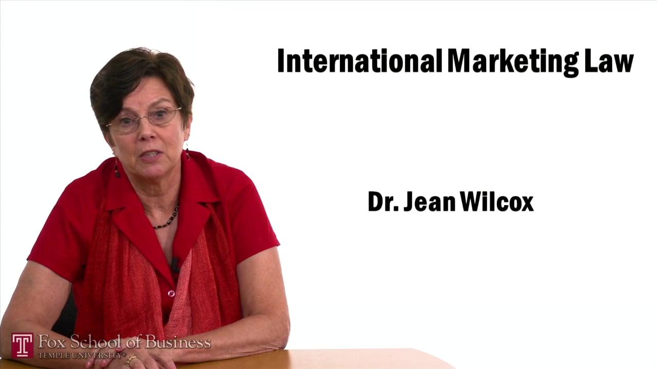 57434International Marketing Law