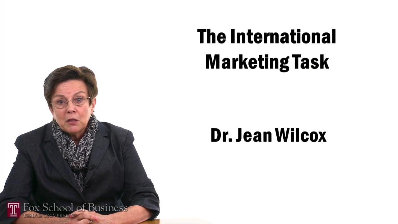 57412The International Marketing Task