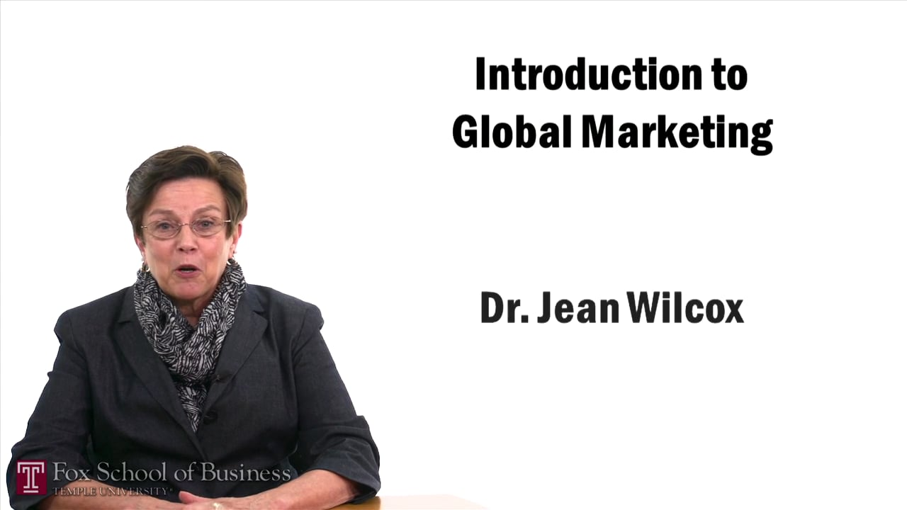 57414Introduction to Global Marketing