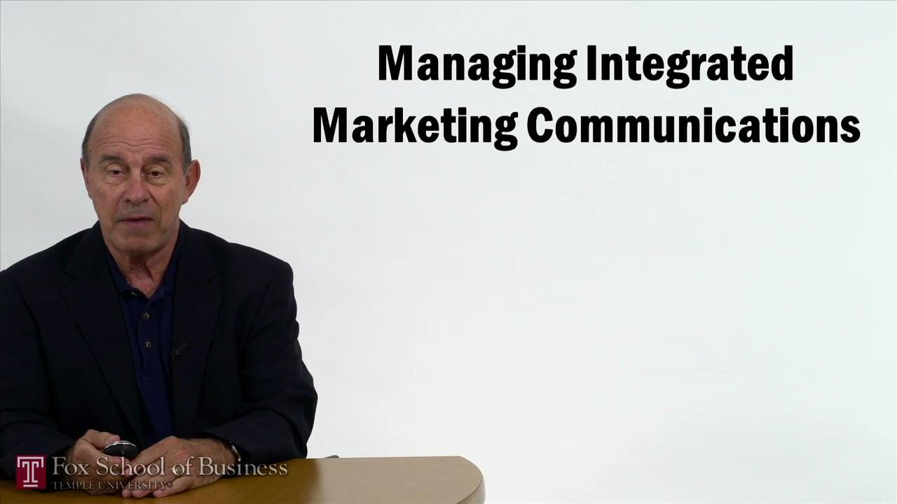 57348Managing Integrated Marketing Communications