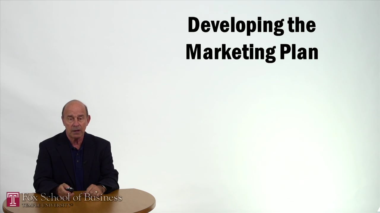 57347Developing the Marketing Plan