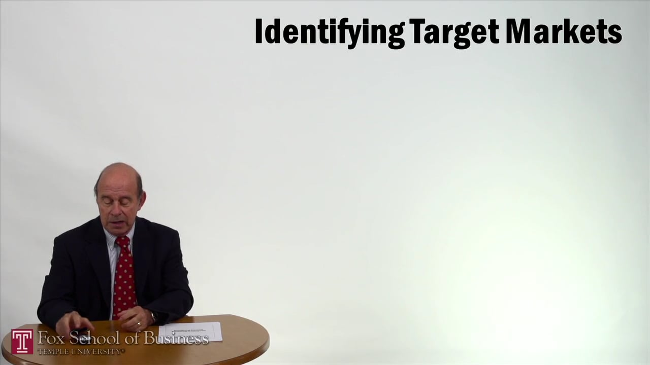 57261Identifying Target Markets