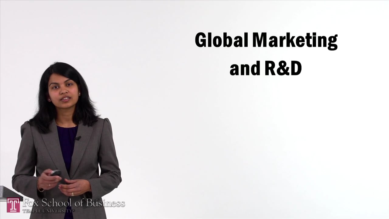 57132Global Marketing and R&D