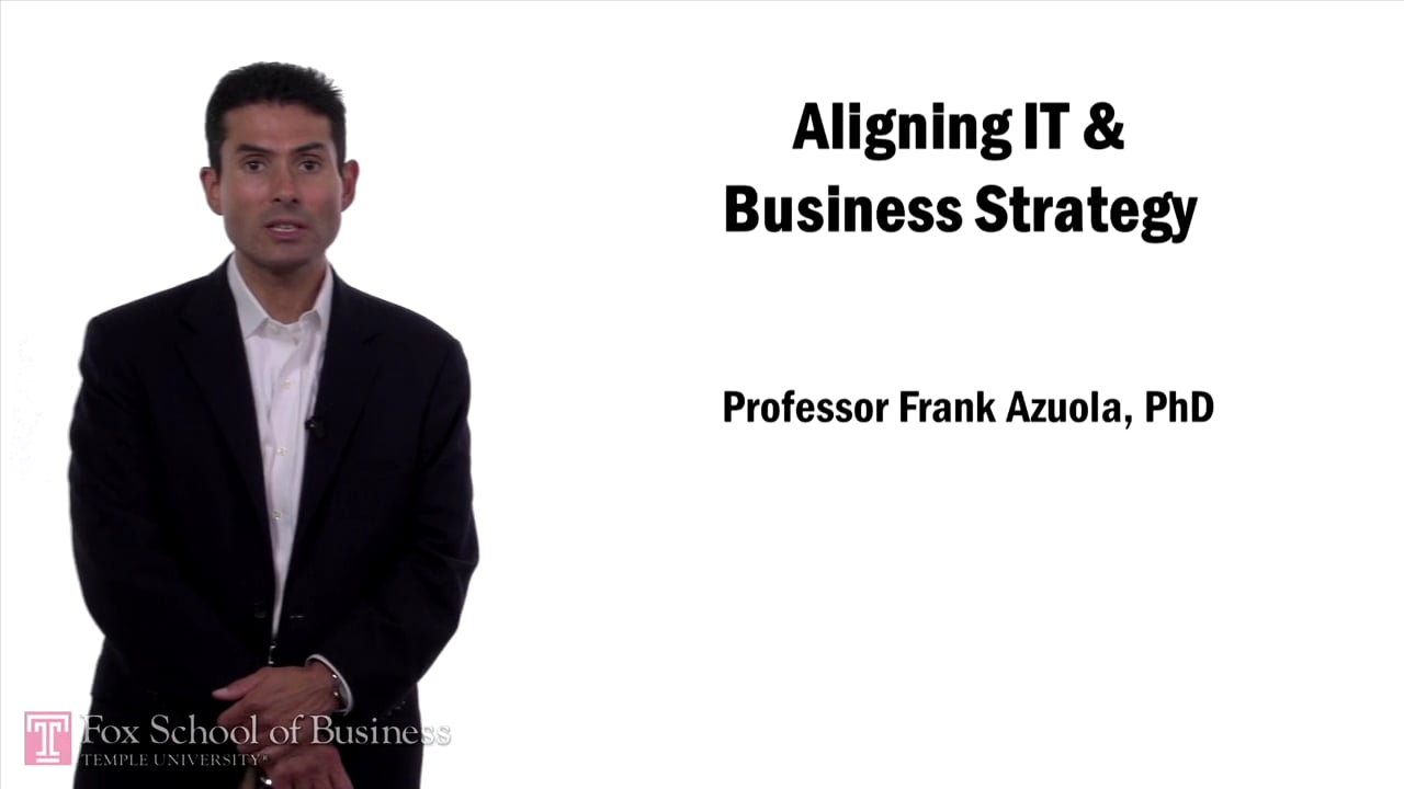 57617Aligning IT and Business Strategy