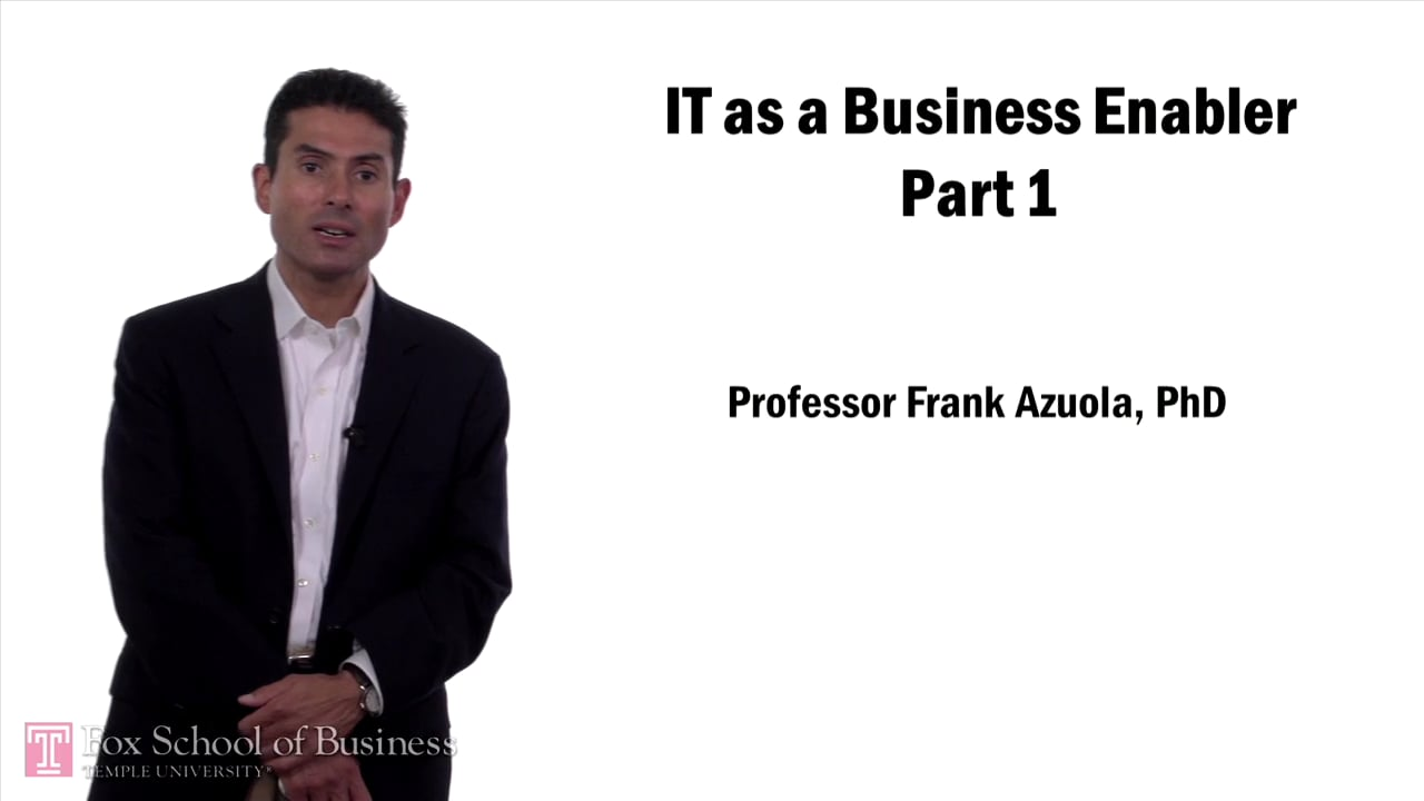 57612IT as Business Enabler Pt1