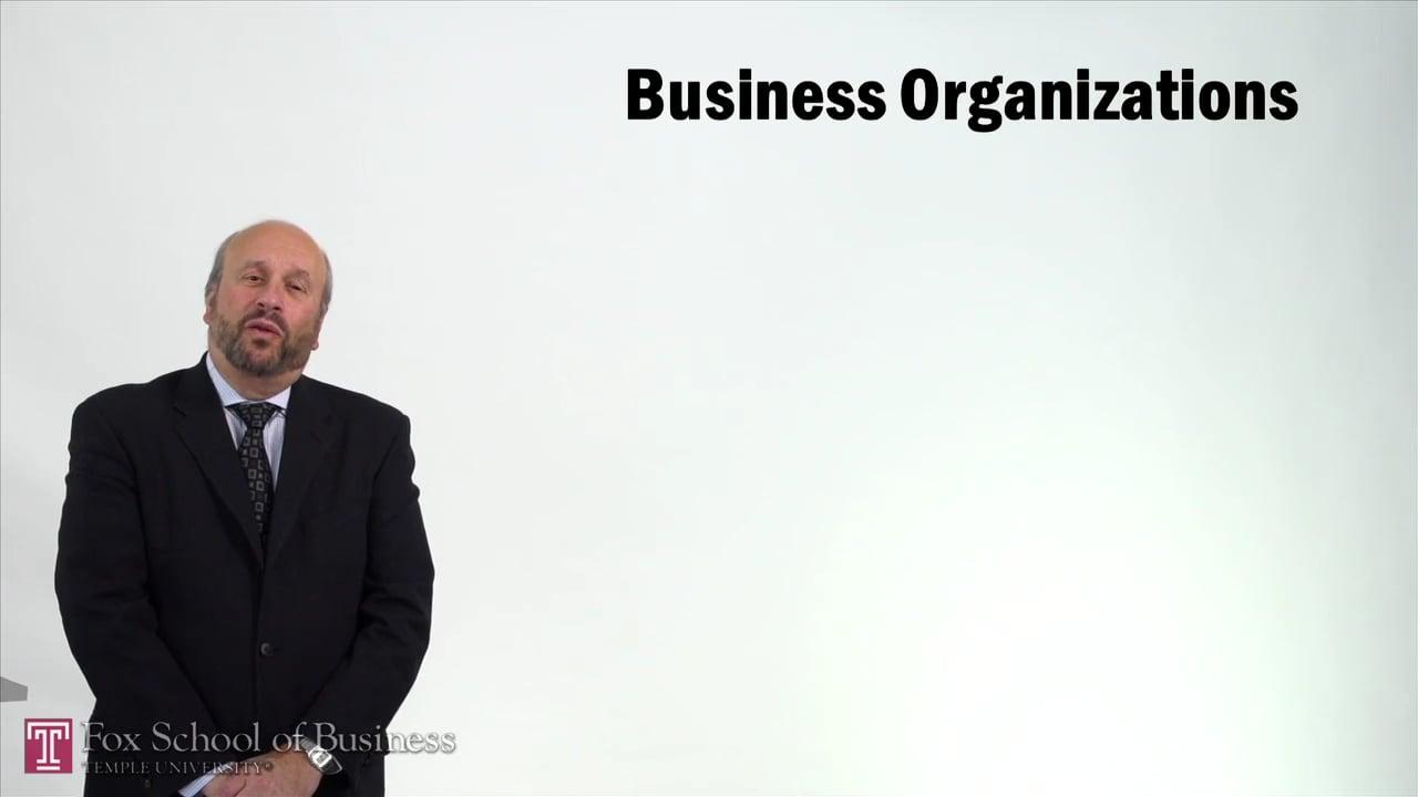 57242Business Organizations