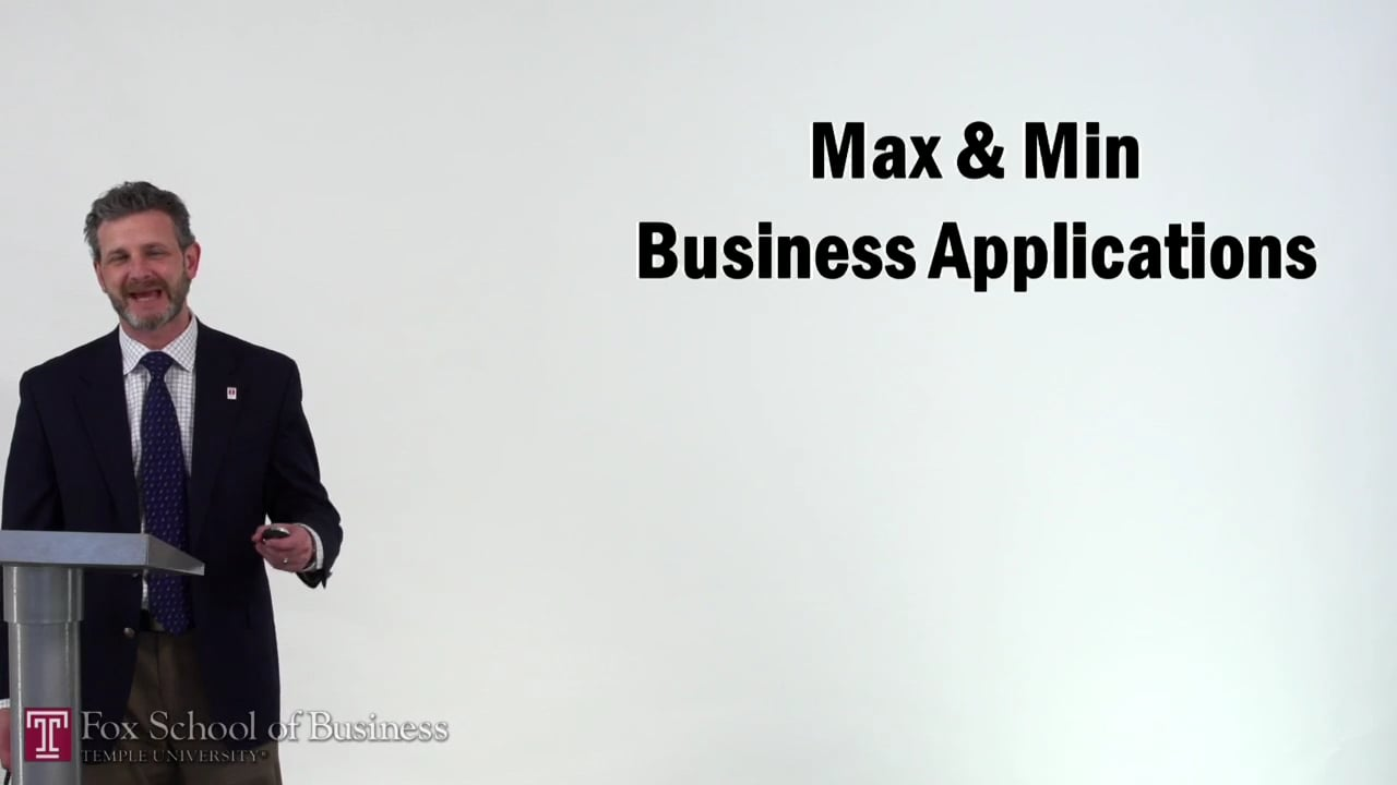 57184Max and Min Business Applications