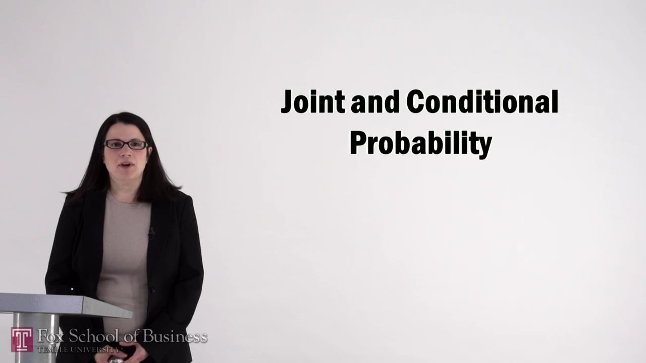 56997Joint and Conditional Probability