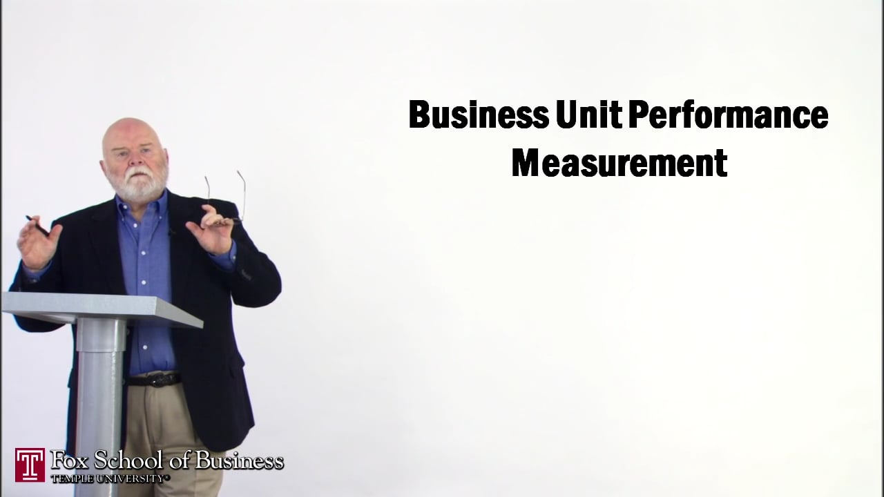 56849Business Unit Performance Measurement