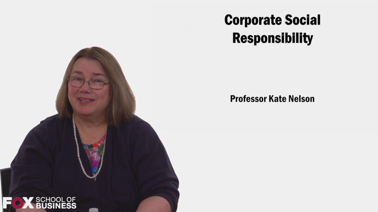58558Corporate Social Responsibility