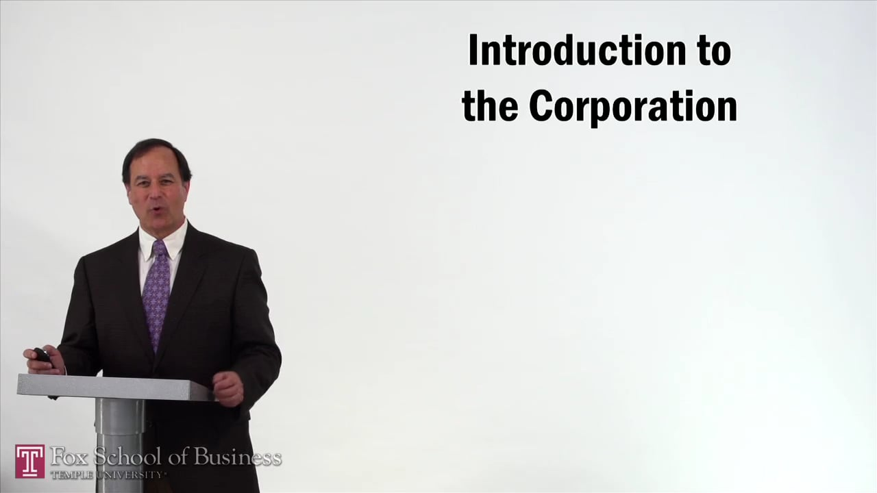 57204Introduction to the Corporation