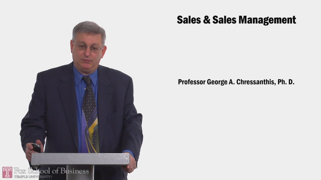 58187Sales and Sales Management
