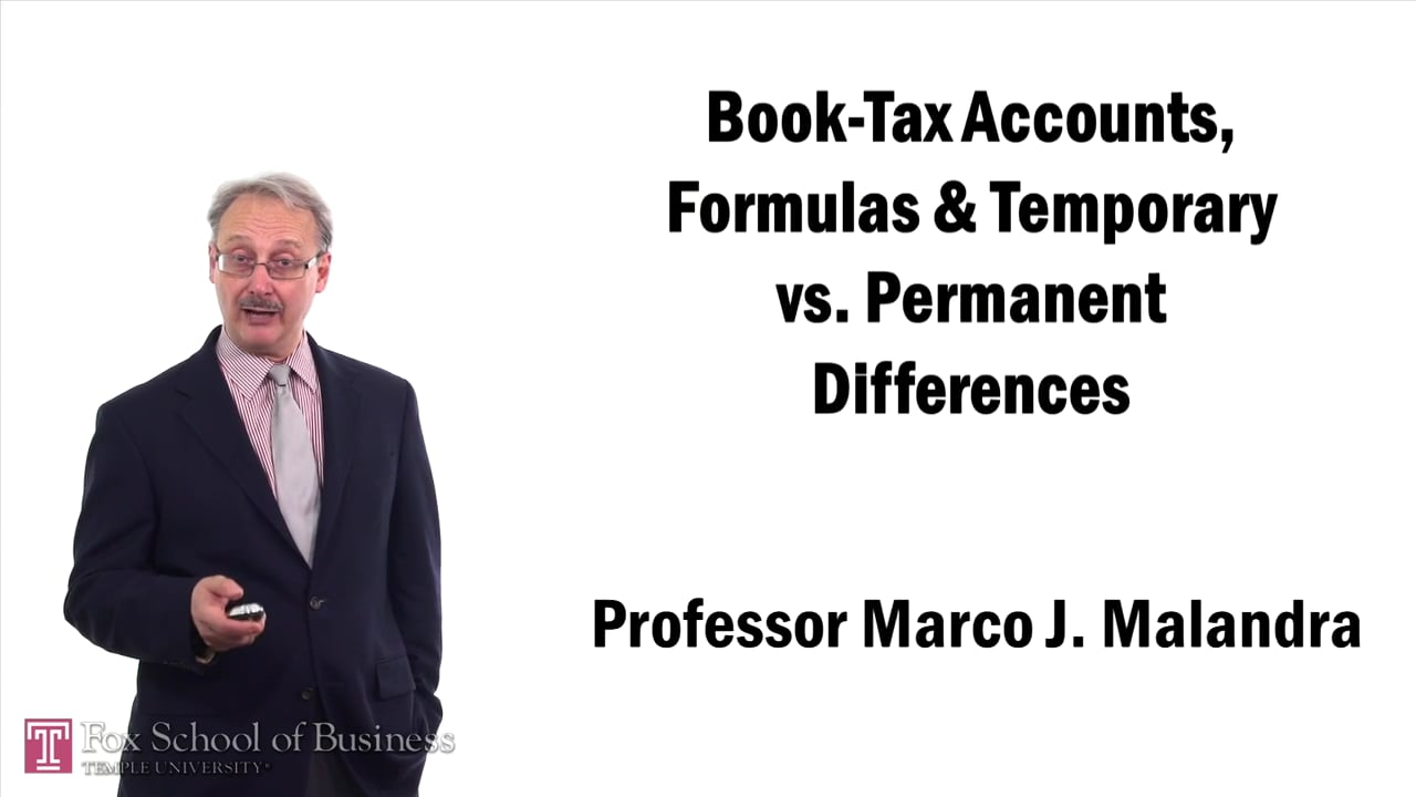 57404Book-Tax Accounts Formulas and Temporary vs. Permanent Differences
