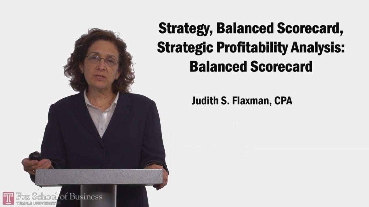 58119Strategy, Balanced Scorecard, Strategic Profitability Analysis Balanced Scorecard