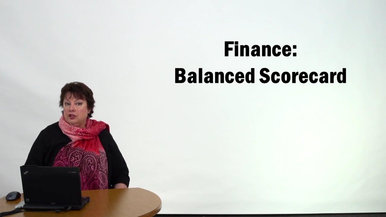 57315Finance – Balanced Scorecard