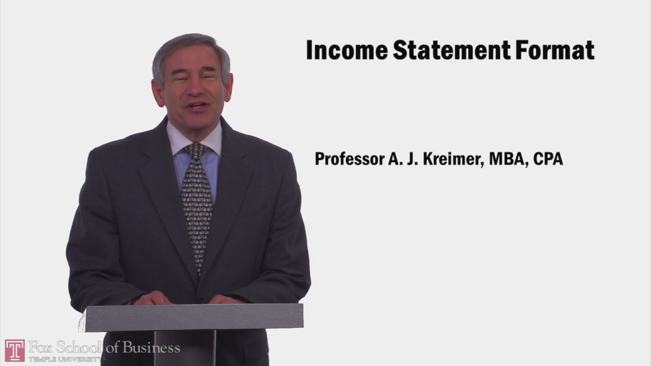 57837Income Statement Format