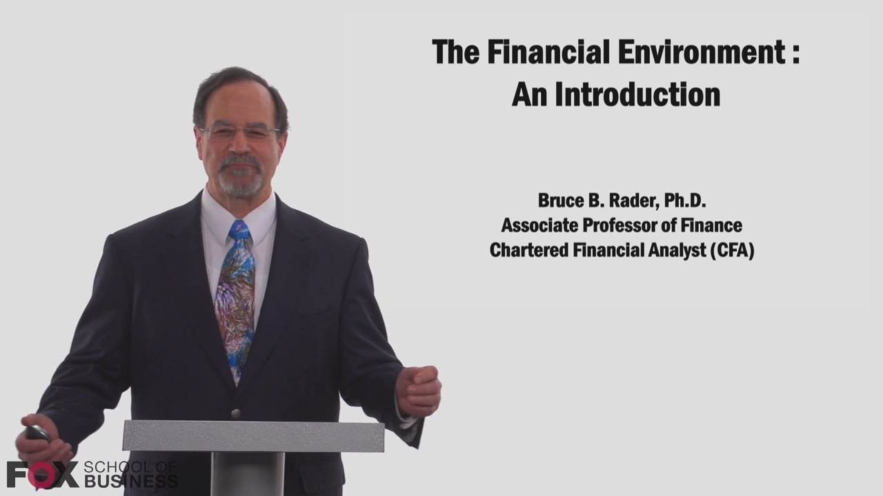 58779The Financial Environment- An Introduction Part 1