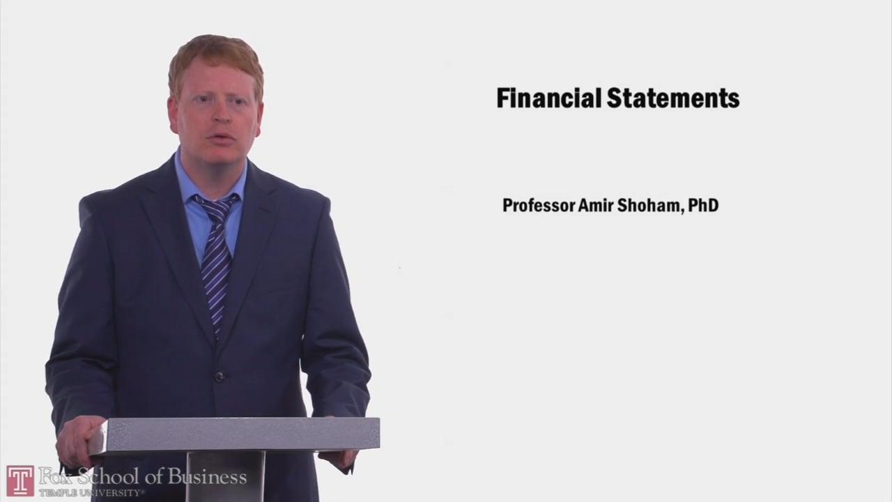 58034Financial Statements