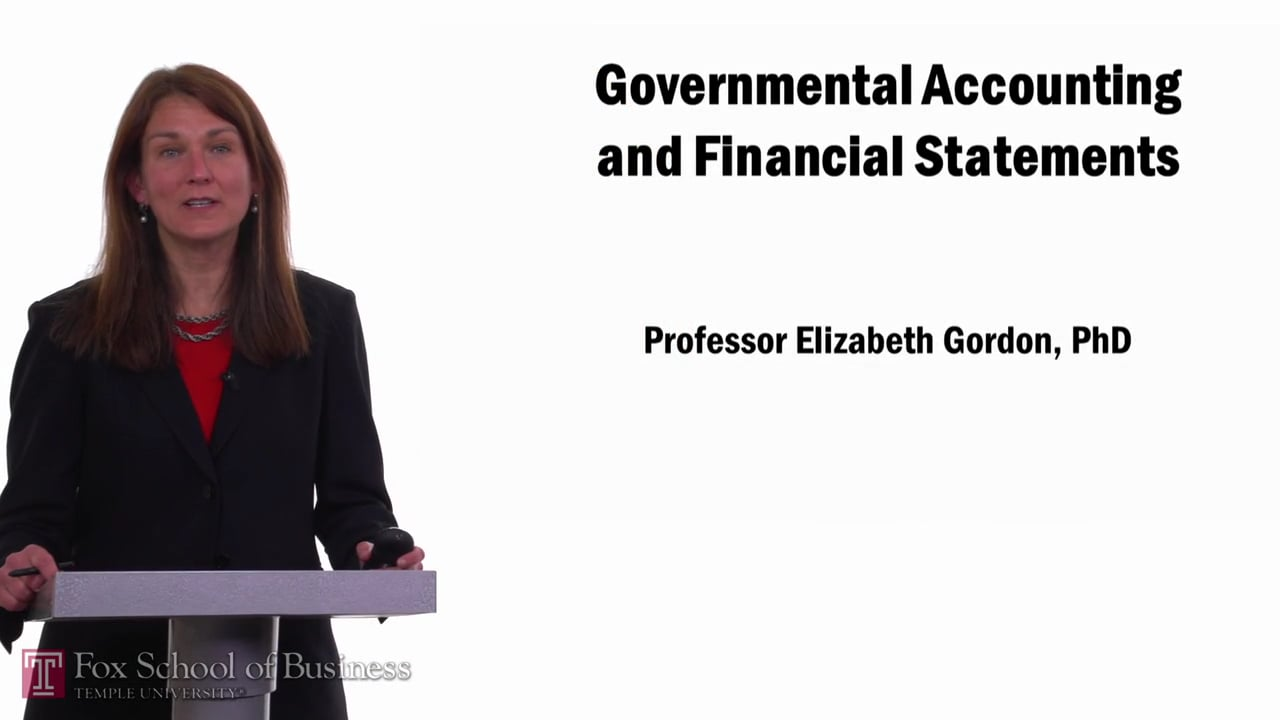 57676Governmental Accounting   Financial Statements