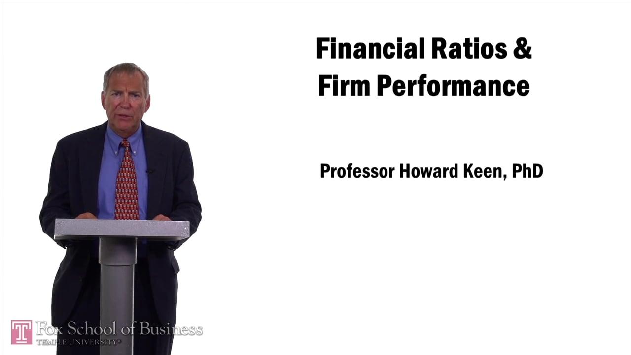 57563Financial Ratios   Firm Performance