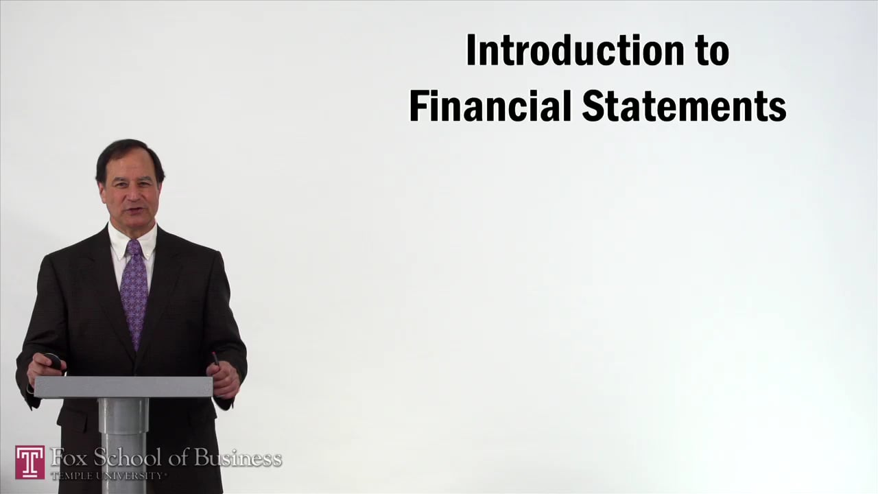 57207Introduction to Financial Statements