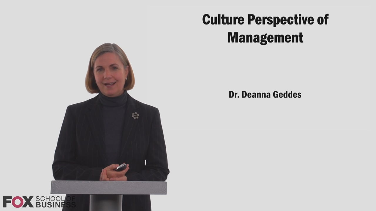 58751Culture Perspective of Management