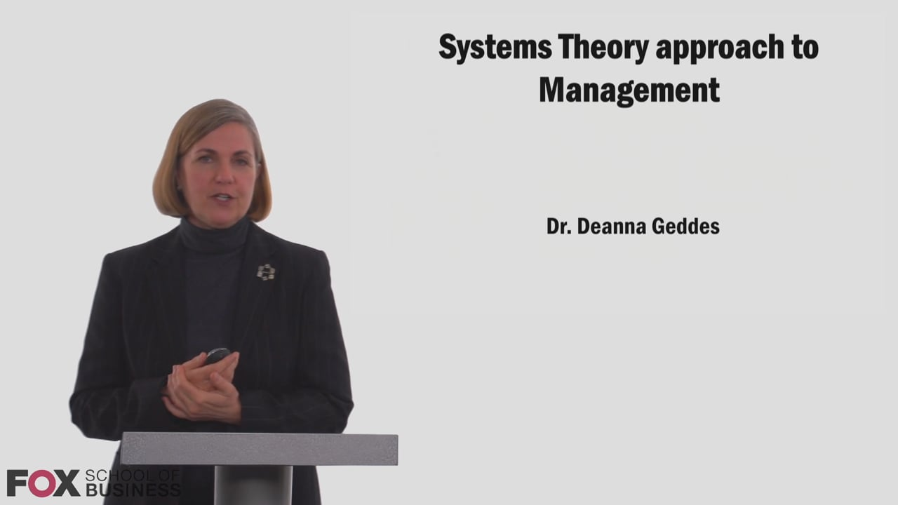 58752System Theory Approach to Management