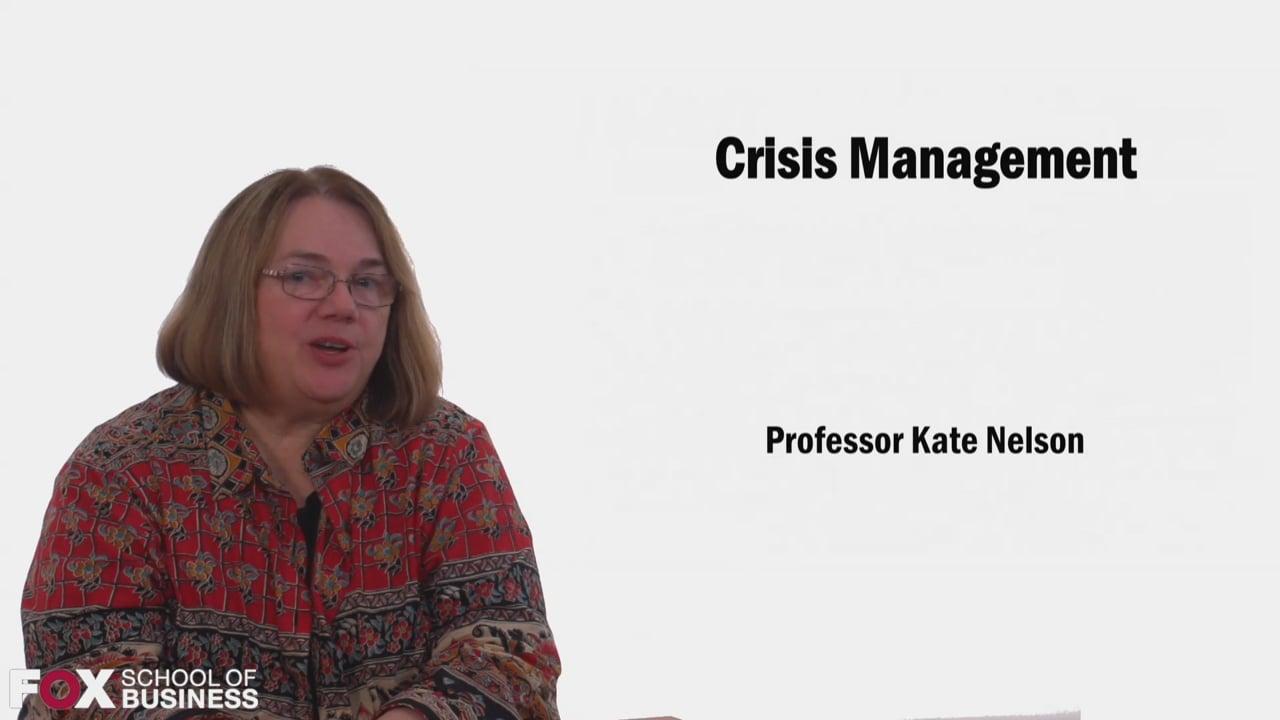 58559Crisis Management