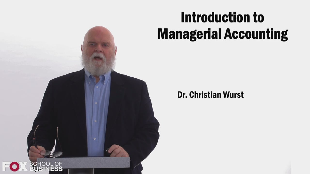 58456Introduction to Managerial Accounting
