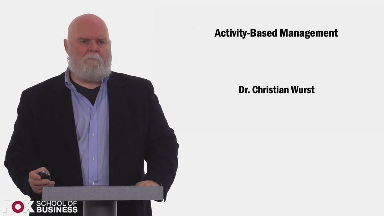 58420Activity Based Management