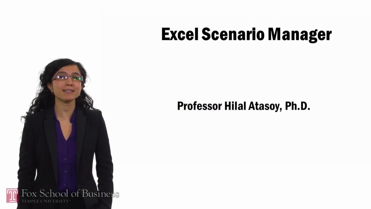 57765Excel Scenario Manager