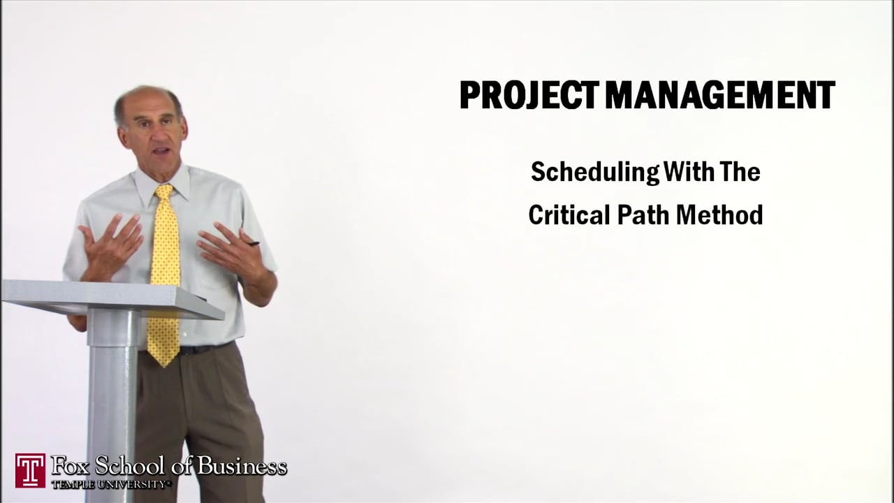 56964Project Management II: Scheduling with the Critical Path Method
