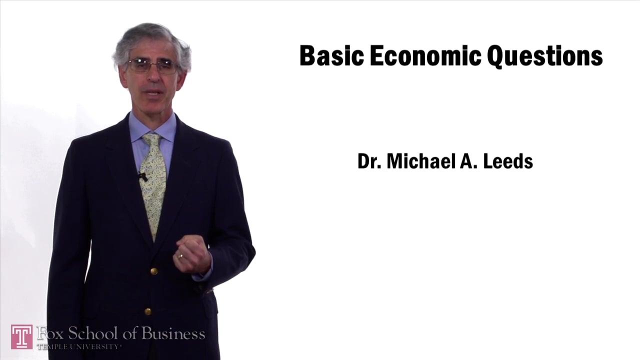 57630Basic Economic Questions