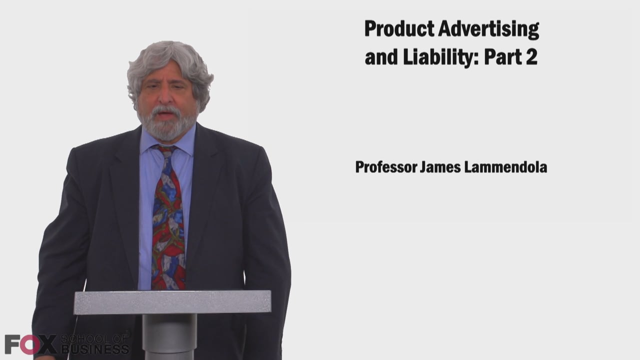 58635Product Advertising and Liability Part 2