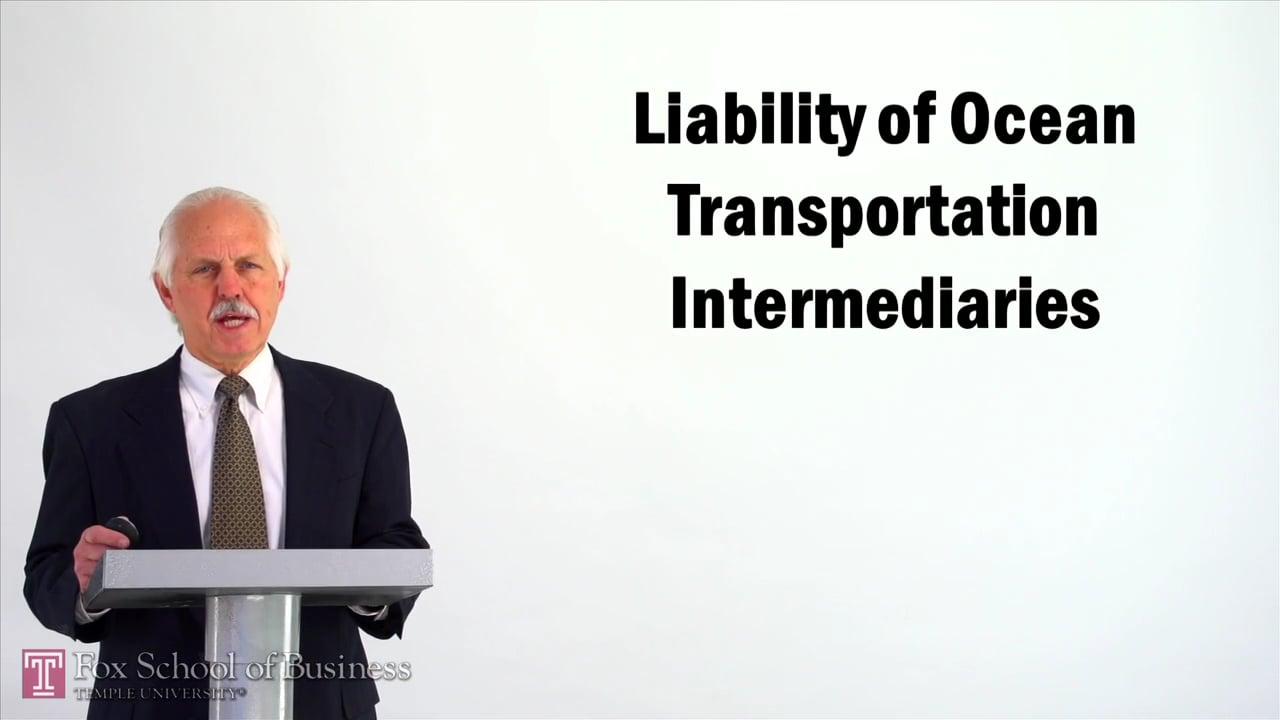 57066Liability of Ocean Transportation Intermediaries