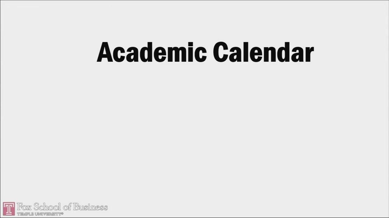 58734Online MBA Academic Calendar