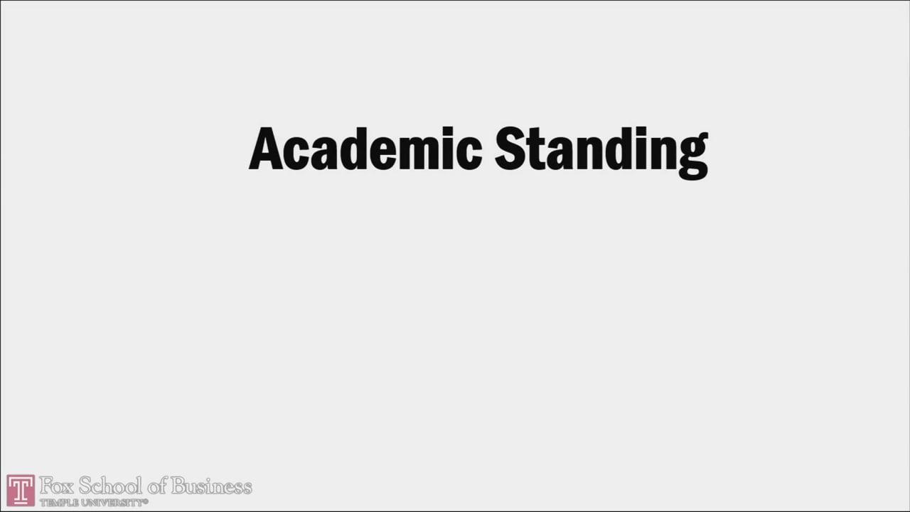 58735Graduate Academic Standing Policies