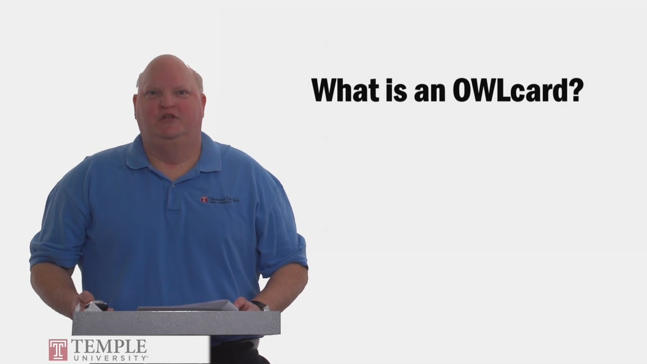 58727What is an OWLcard