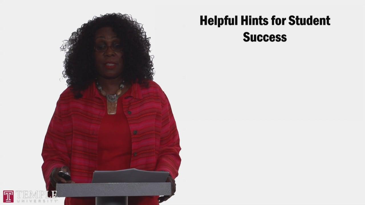 58705Bursars Office: Helpful Hints for Student Success