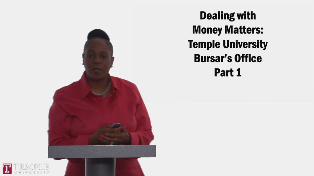 58719Bursars Office PT1: Role of the Bursars office and Tuition Calculator