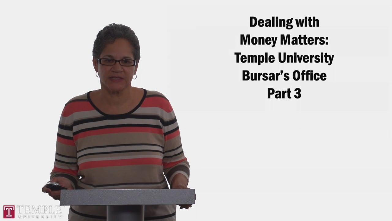 58715Bursars Office PT3: Payment Options, Direct Deposit, Borrowing Options