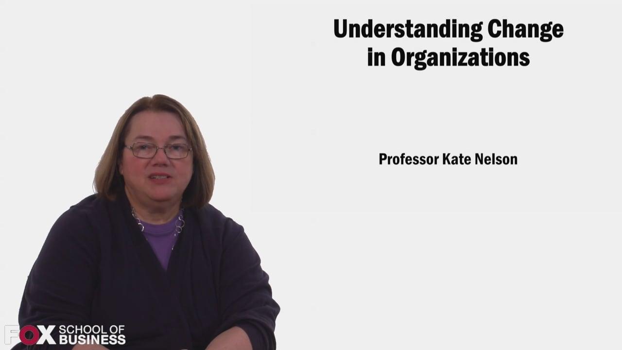 58655Understanding Change in Organizations