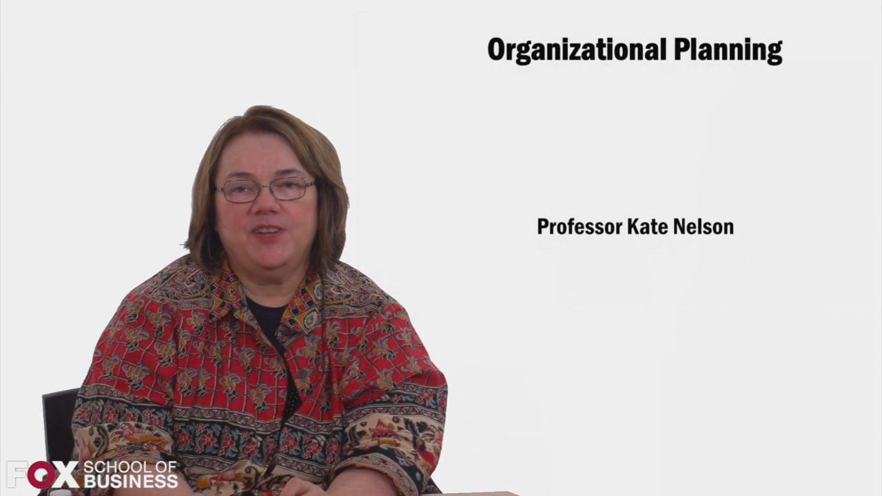 58573Organizational Planning
