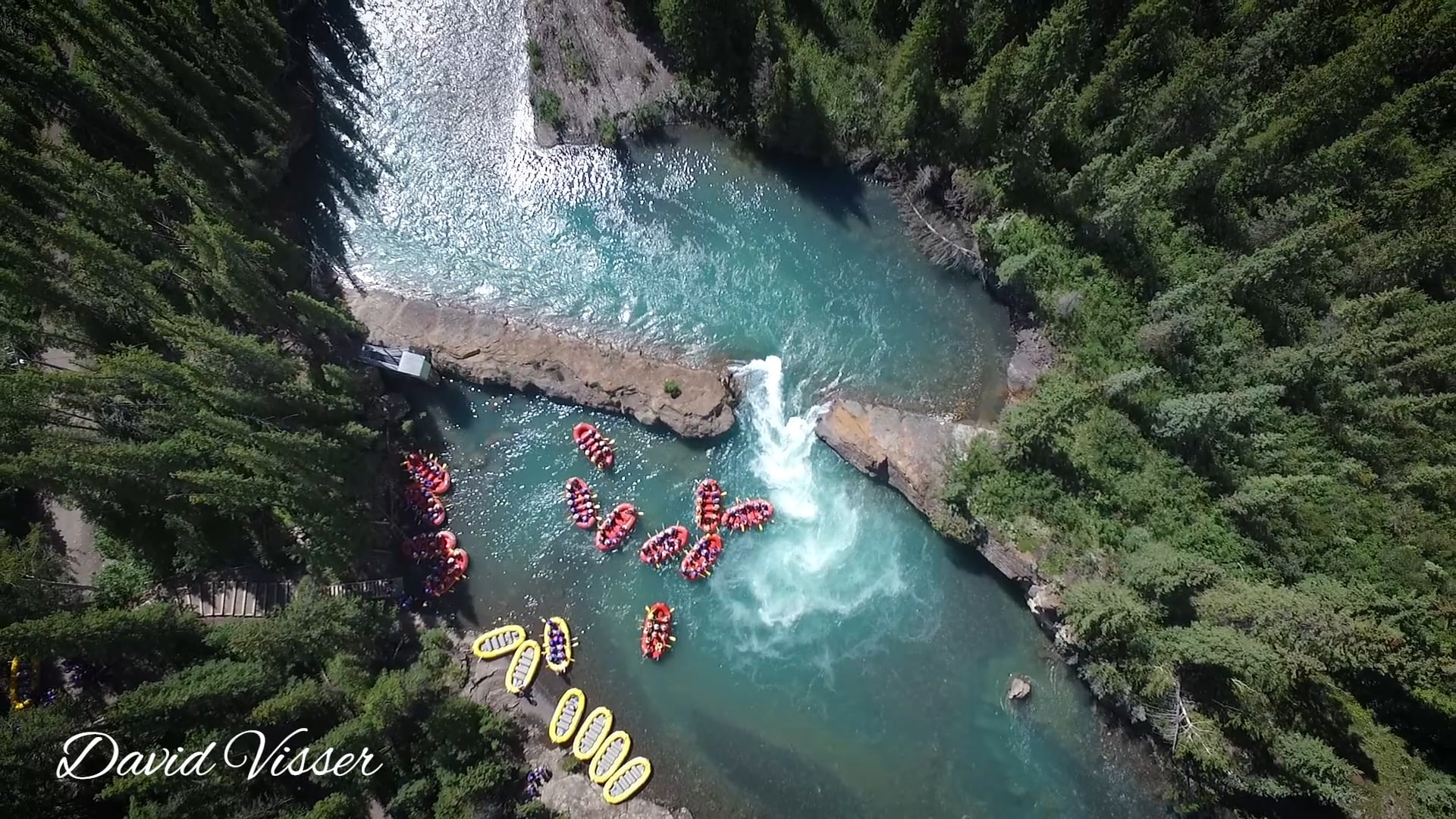 Rafting - Drone Footage