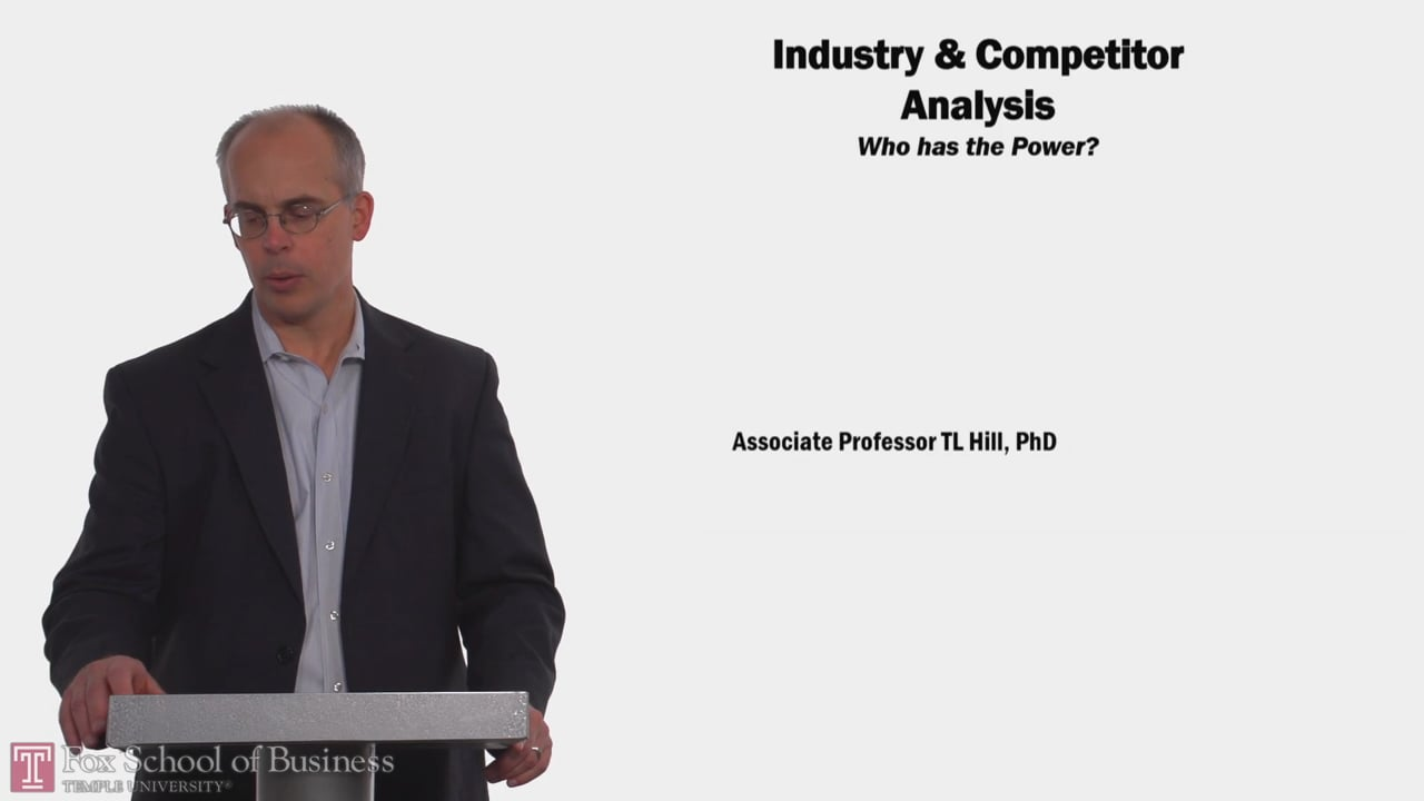 58133Industry Competitor Analysis
