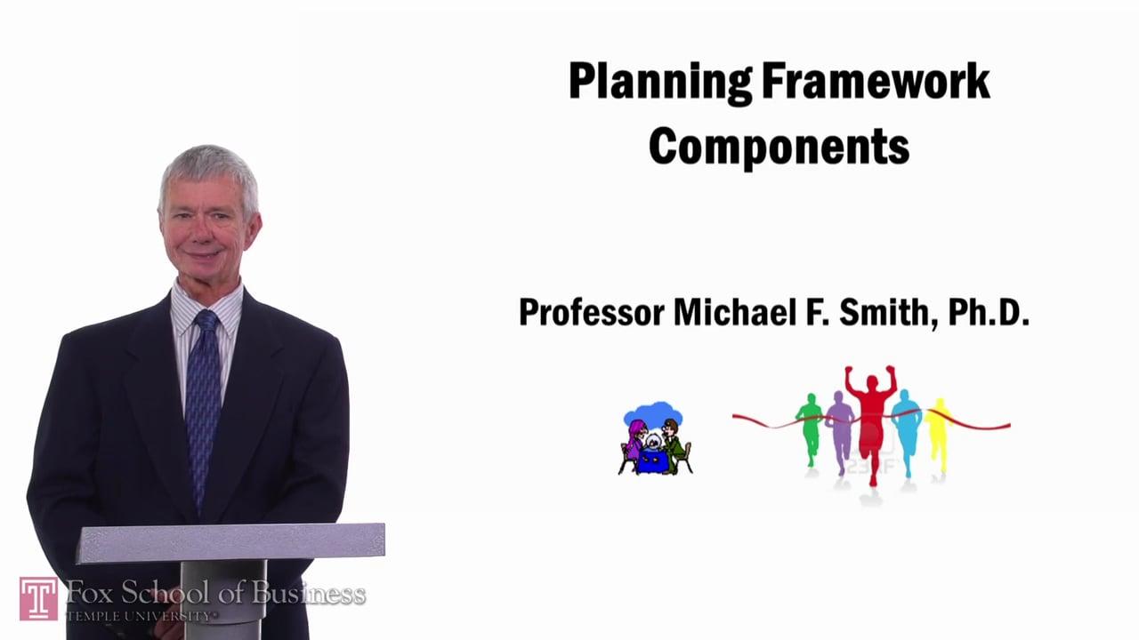 57710Planning Framework Components