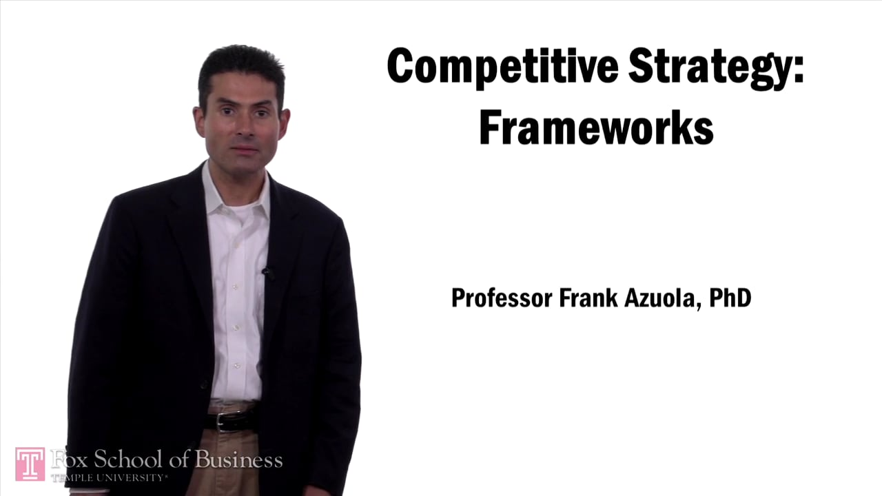 57616Competitive Strategy Frameworks
