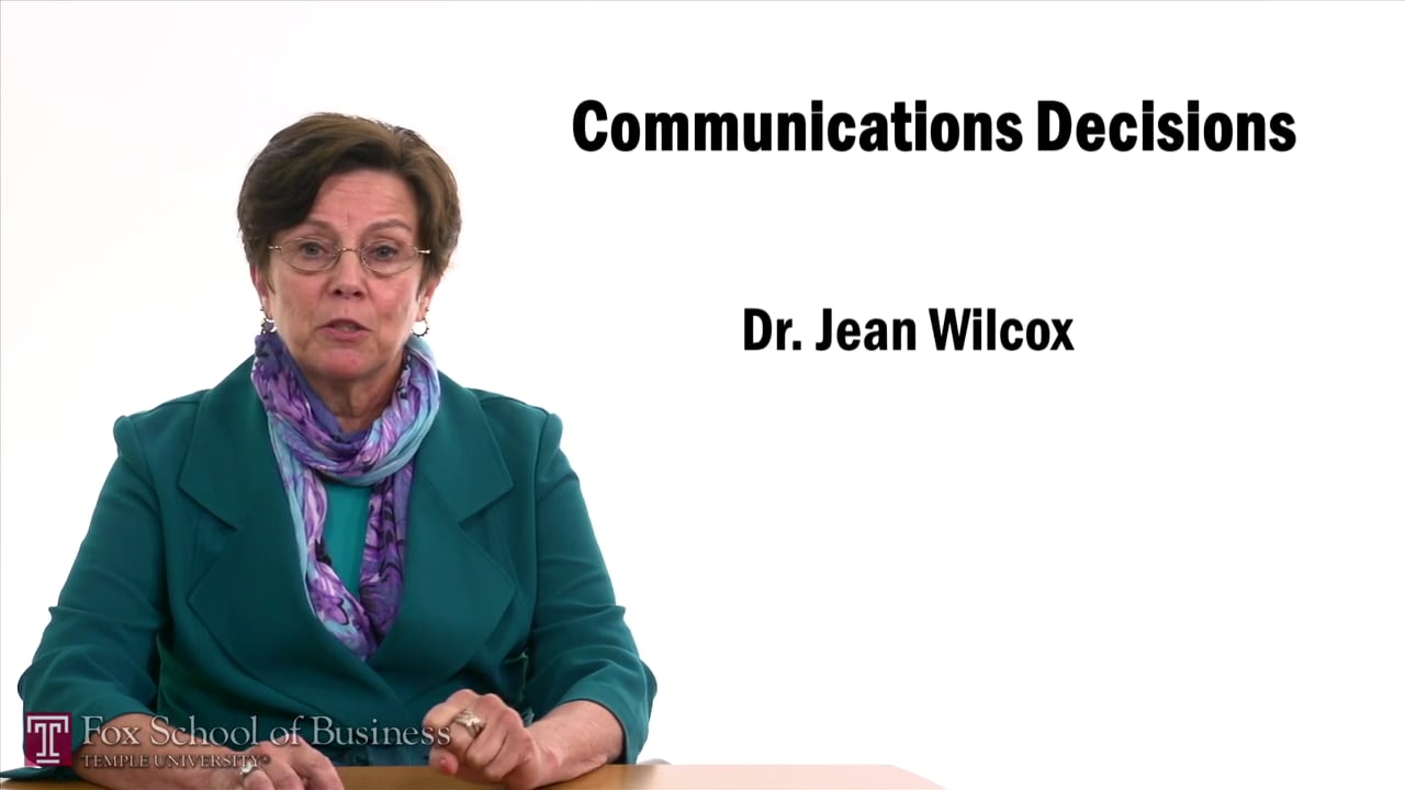 57480Communication Decisions Digital Media – Advertising Communication Styles